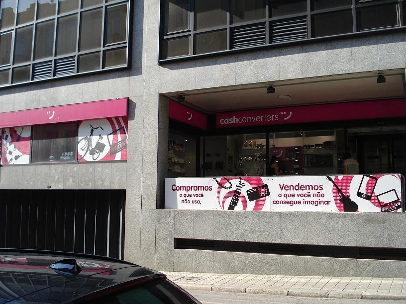 Cash Converters Lisboa, Rua Pinheiro Chagas, 101B. Compra e venda em segunda mão